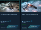 Star Citizen Starter Game Packages